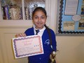 Year 4<p>Luiza - for welcoming and impressing Miss Stanbridge with her hard work</p>