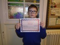 Year 6<p>Lukas - for an excellent weather report in geography which showcased how confident he is becoming in writing in a new language</p>
