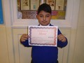 Year 5<p>Armandas - for his outstanding work with equivalent fractions</p>