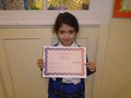Year 2<p>Diana - for a super description of Mother Monkey in Julia Donaldson's book 'Monkey Puzzle'.</p>