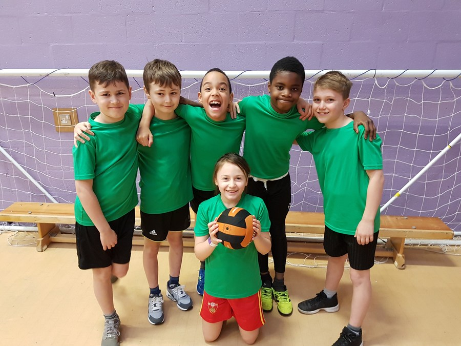 The Year 5 Dodgeball Team who won the tournament!