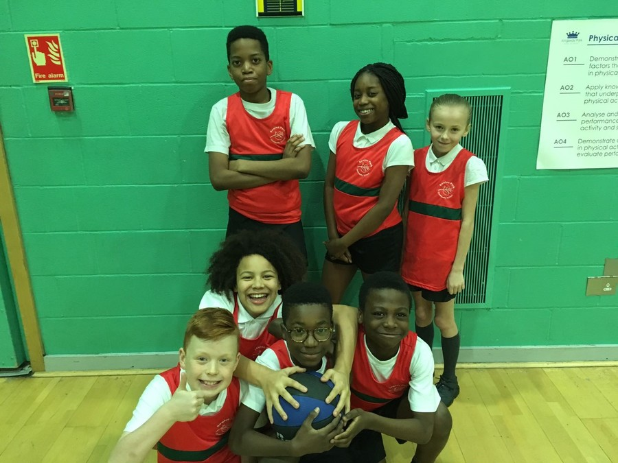 Well done to our Basketball team who qualified for the final of the Rochdale games Basketball tournament.