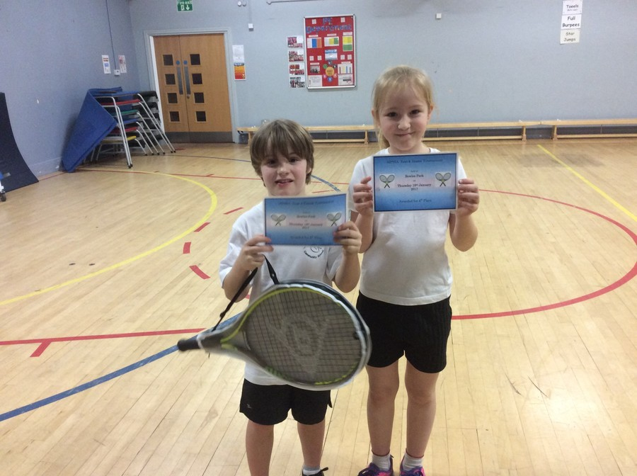 Well done to our Year 3 and 4 Tennis players who competed for school in the Middleton school games competition.