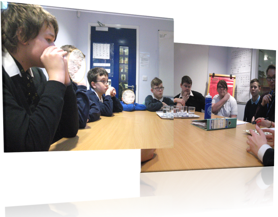 A recent meeting of the School Councillors
