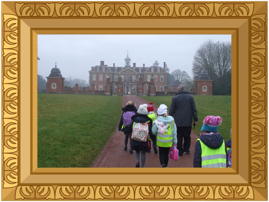 KS1 Hanbury Hall trip