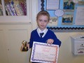 Year 4<p>Ben - for his growing confidence in his writing, producing sophisicated and mature sentences.</p>