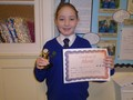 Year 6<p>Amber - for her focus, determination and positivity towards overcoming challenges</p>