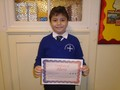 Year 5<p>Rami - for his positive attitude to all his work and always being determined to succeed</p>