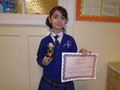 Year 3<p>Maral - for showing an excellent attitude to give every task her full attention and effort</p>