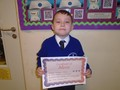 Year 2<p>Jonathon - for excellent attitude when completing arrays in maths</p>