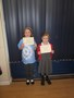 Charleigh and Belle received their Level 1 Cheerleading certificates. These two are always busy doing something different!