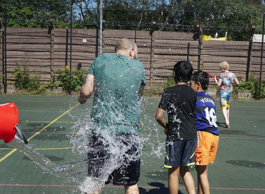 End of term Water Fight!