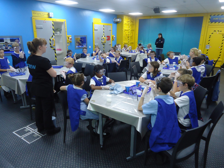 We loved making slime at The Deep
