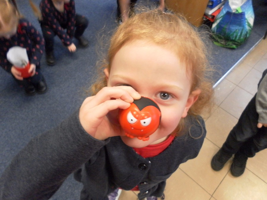 <h5>£190 was raised for Red Nose Day</h5>
