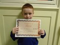 Year 1<p>Alfie - for trying so hard in class and playing nicely with friends at playtime</p>