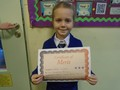 Year 2<p>Natalia - for settling in well and producing fabulous maths work</p>