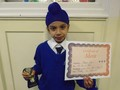 Year 3<p>Mahaveer - for 100% effort and perseverence in all challenges he is set</p>