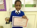 Year 4<p>Naomi - for working hard in class and helping others to do their best</p>