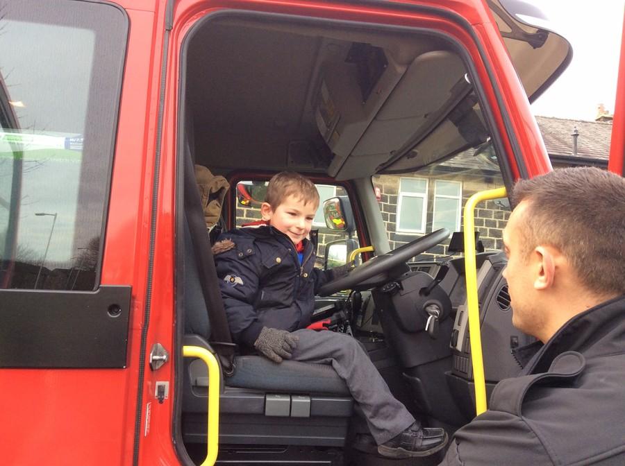 Rawdon Firefighters visit FS2