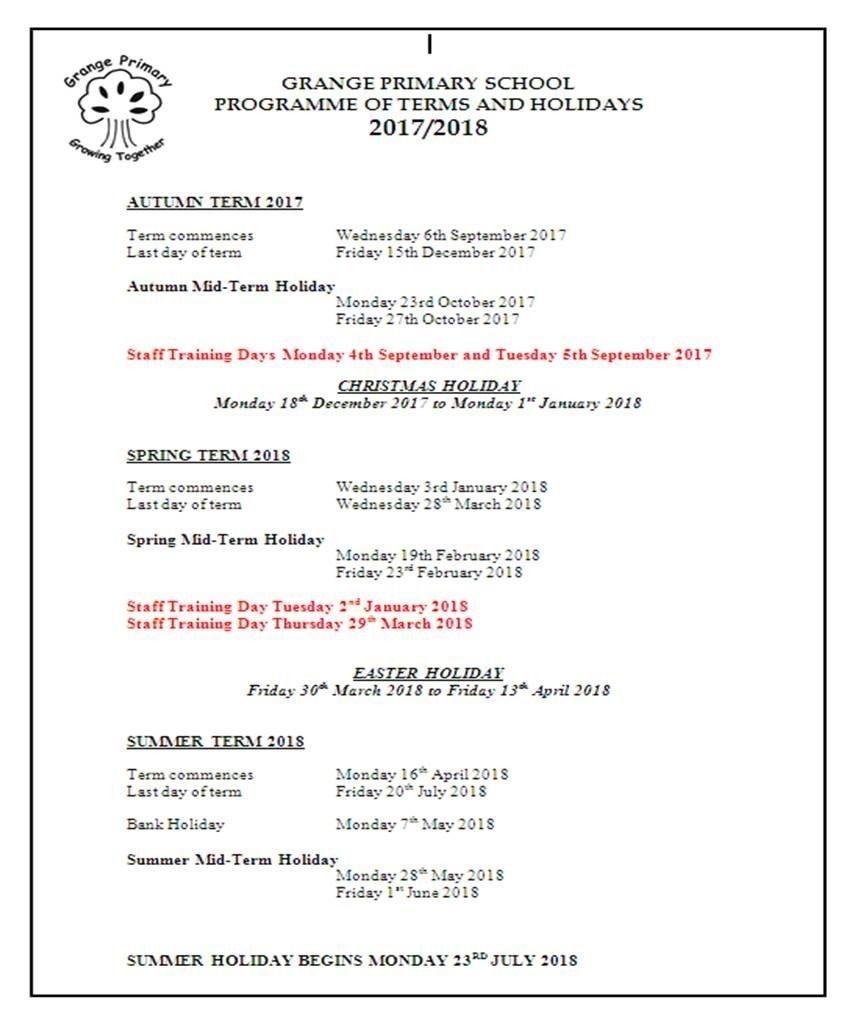 Workbooks teach-nology.com worksheets : Grange Primary School - Dates & Attendance