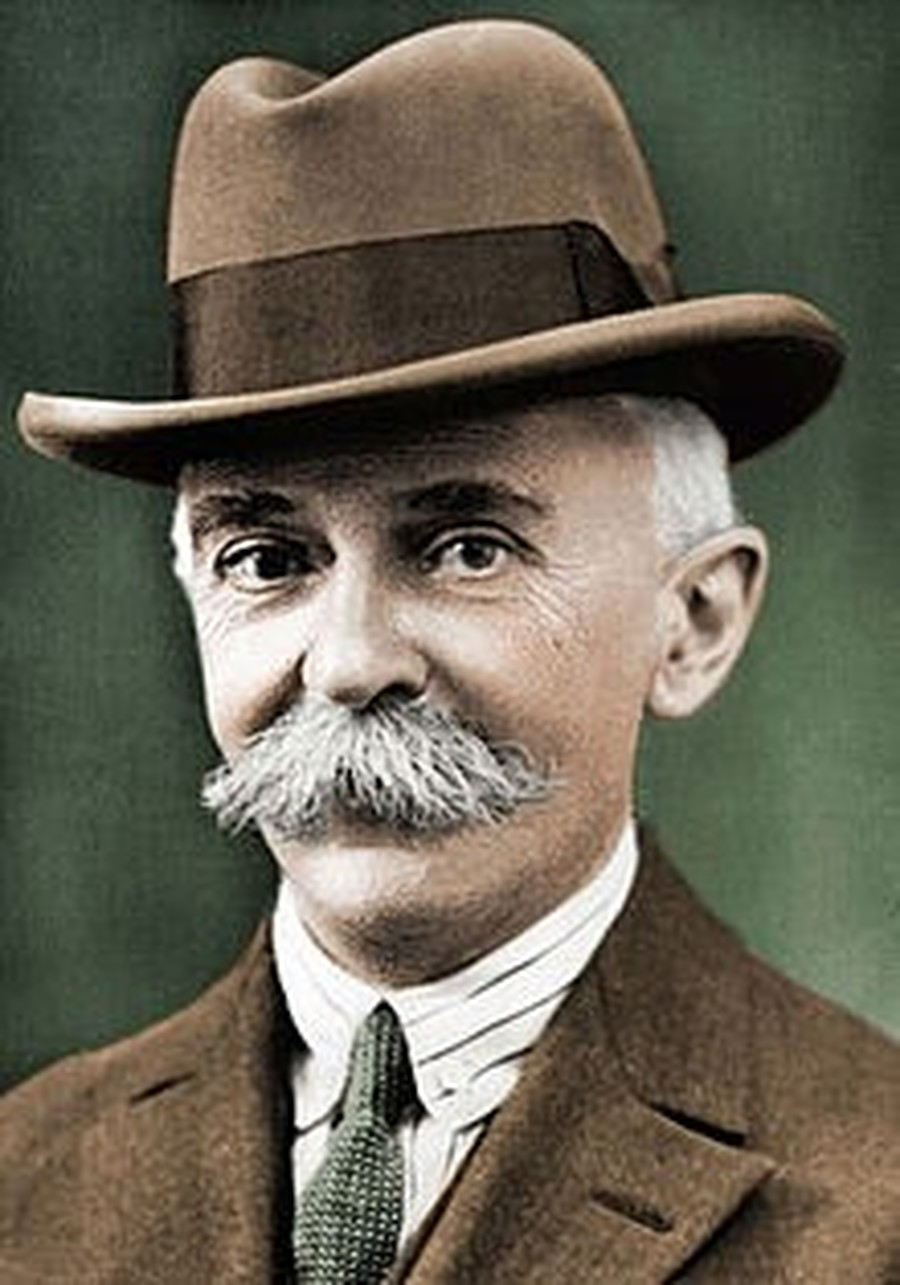 Baron Pierre de Coubertin (1January 1863 – September 1937)