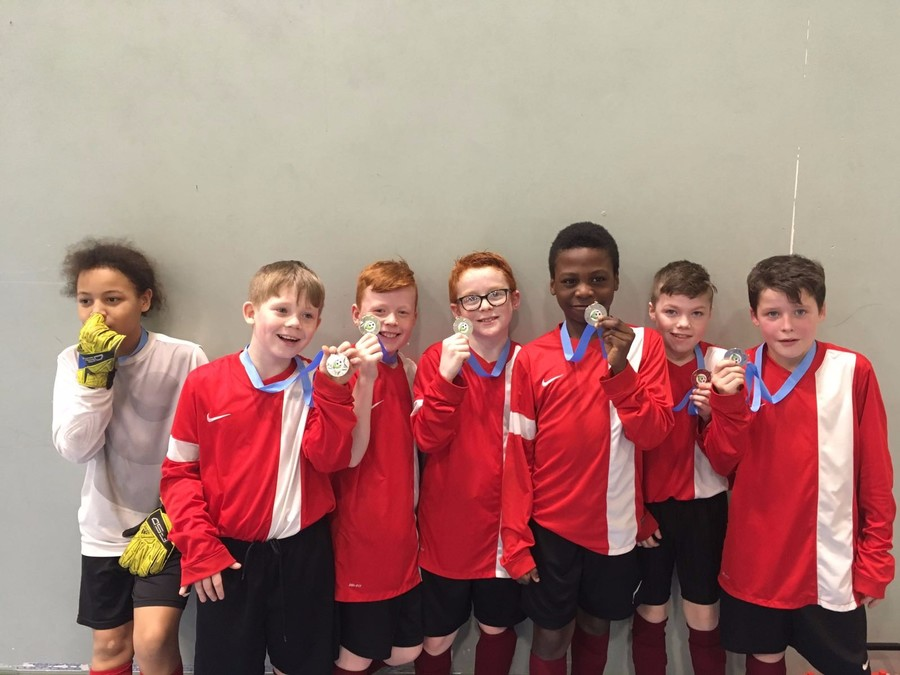 Well done to our football team finishing second in the MPSSA indoor tournament