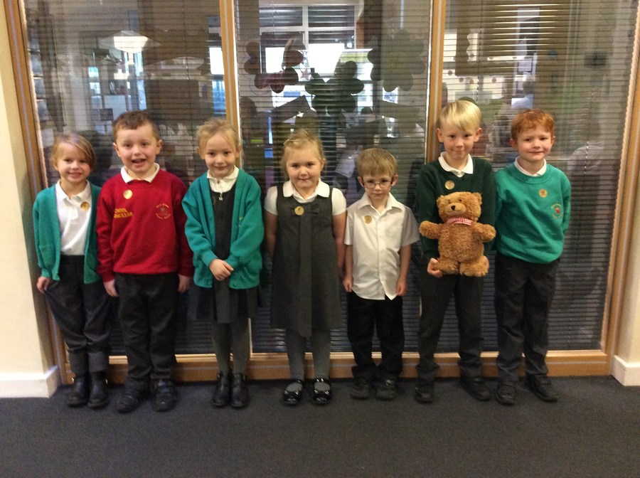 KS1 & Foundation Stage Weekly Stars 3.2.17