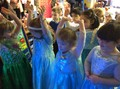 We sang and dancing along to a Frozen song