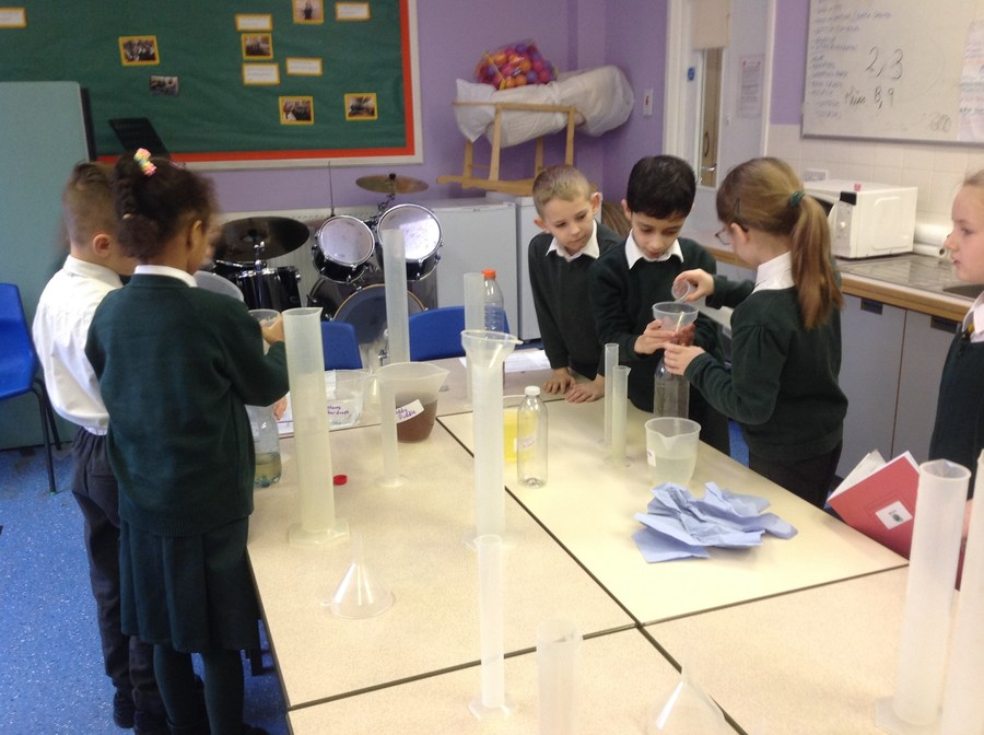 """It was so much fun, we learnt how to use measuring cylinders to make potions!"""