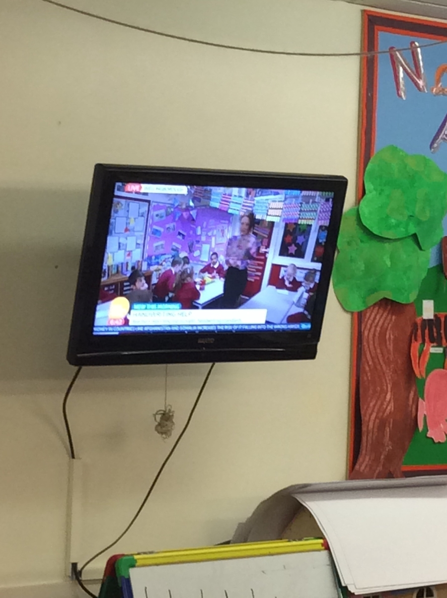 First live link from the Otters classroom