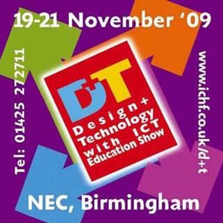 Four Oaks have been chosen as the only primary school in the whole of England to be invited to give a presentation of their design technology work at the Design & Technology with ICT Show from 19th - 21st Nov '09 at the NEC Birmingham