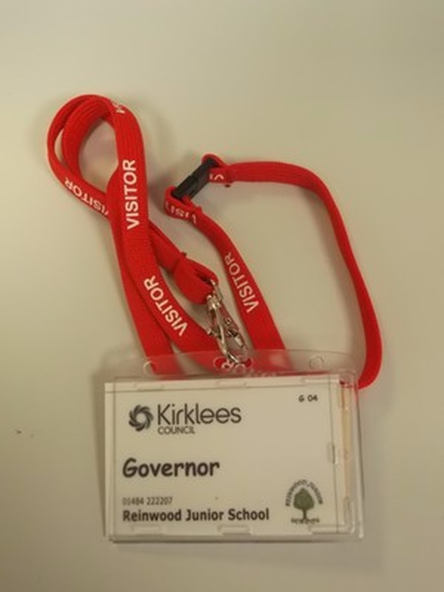 Governors wear a RED lanyard