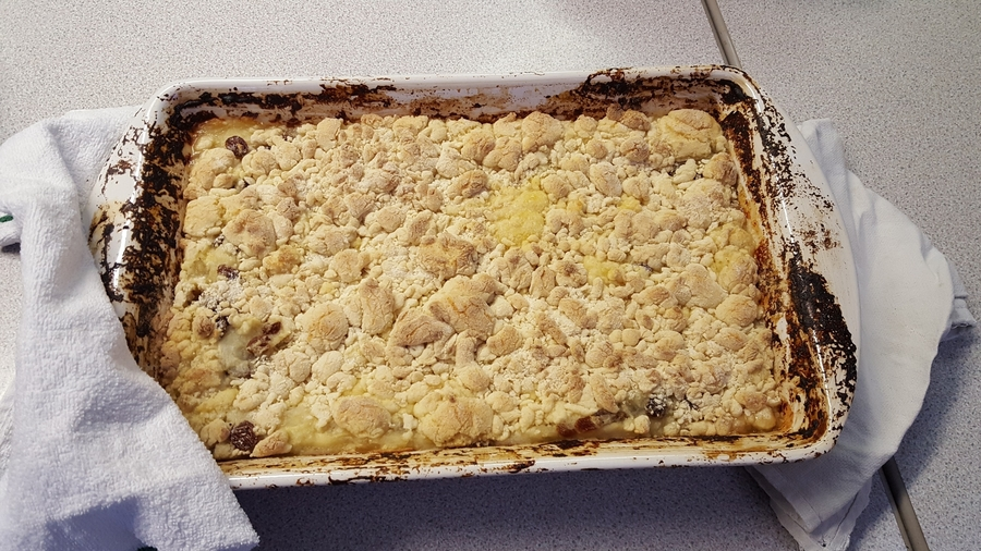 Yummy Apple Crumble.