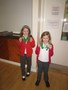 Well done to Belle and Charlotte on receiving their karate medals...they'll need a house extension soon to keep them in!