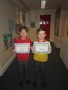 Bobby and Samson received their certificates to celebrate taking part in the Gifted & Talented maths sessions, part of our work within the Cockermouth Consortium of schools.