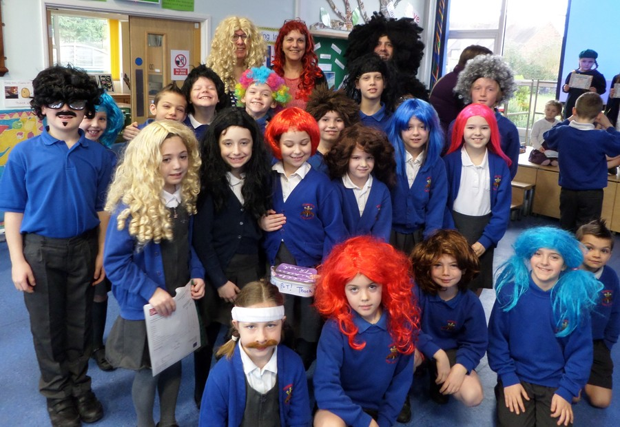 Wear a wig for the Little Princess charity