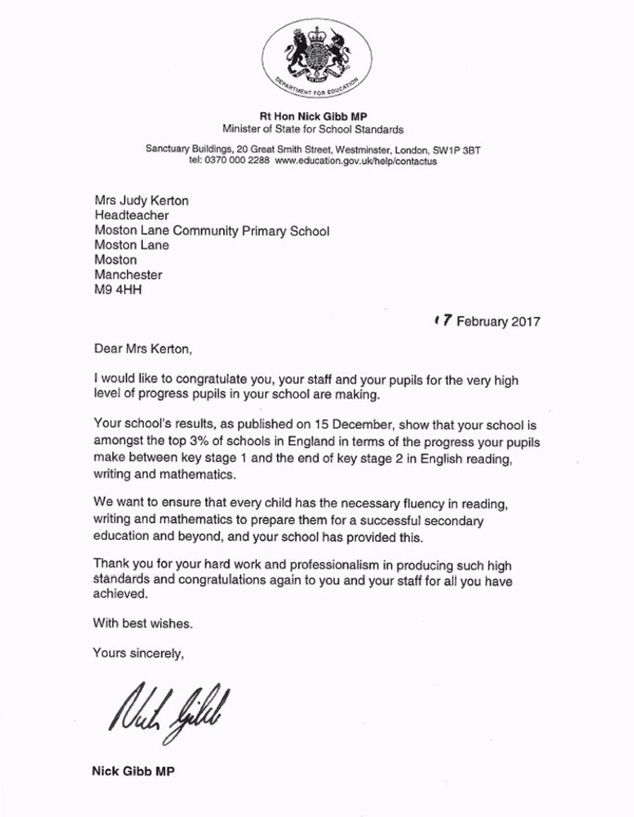Effort And Hard Work Becoming One Of The Top Schools In England For Making  Progress Is