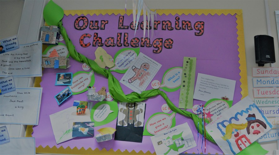 Ladybird's Learning Challenge Curriculum Board Spring 1.