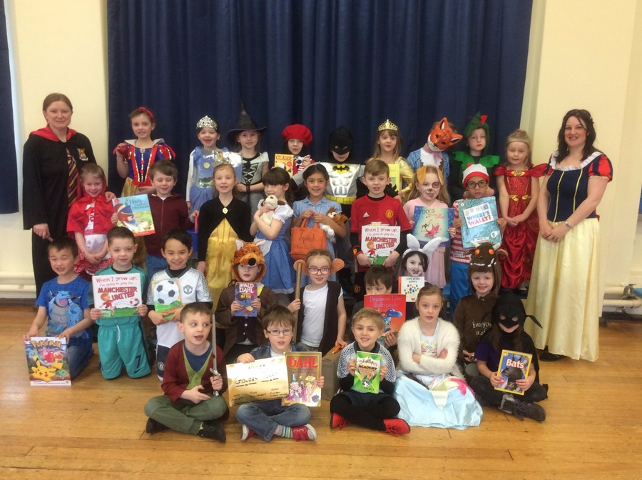 All dressed up as some of our favourite characters!