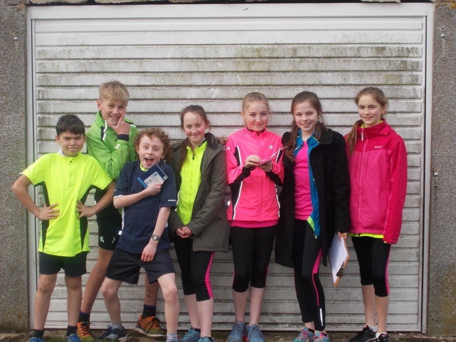 Year 6 Running Team (and Alice!) - thank you for setting up and helping to run the event so well!