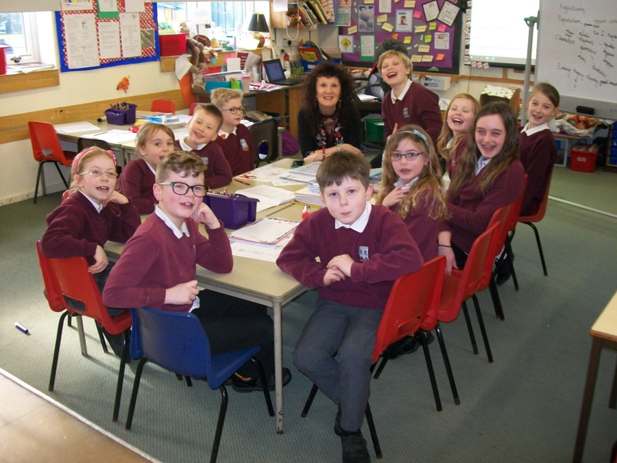 Our School Council with Mrs McNamara