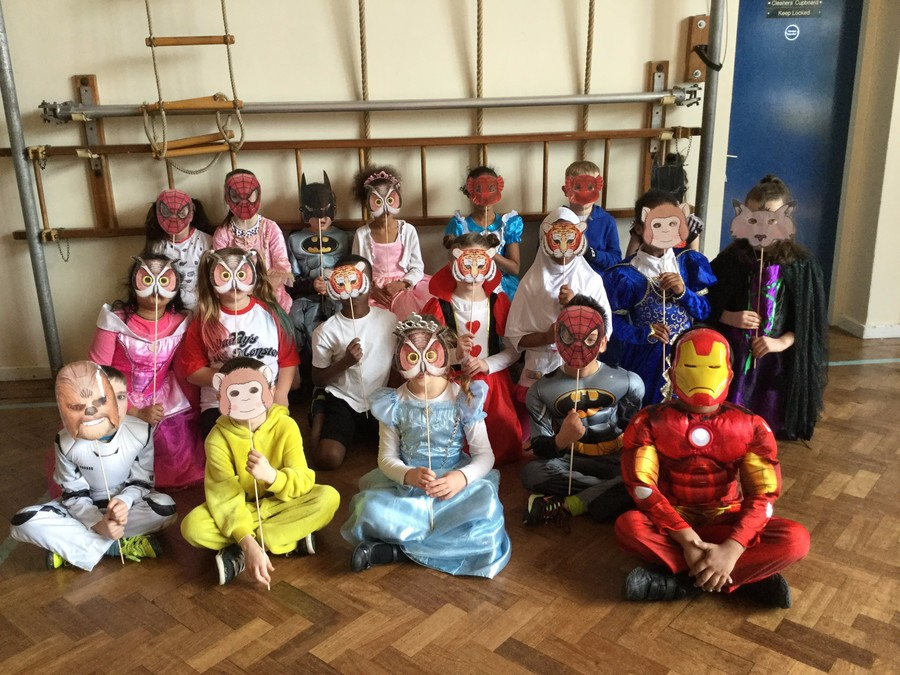 Ms Weston's Class dressed for World Book Day