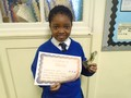 Year 4<p>Dorcas - for wholeheartedly embracing challenges at Colomendy</p>