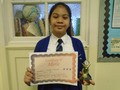 Year 6<p>Lovelyn - for constantly trying to be her best both inside and outside of the classroom</p>
