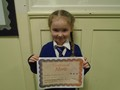 Year 1<p>Annabel - for always trying her best and being so helpful in class</p>