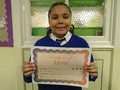 Year 5<p>Callum - for his fabulous attitude to his work and always giving 100%</p>