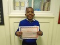 Year 2<p>Caleb - for excellent work in literacy, writing a Julia Donaldson story</p>