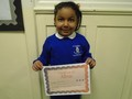 Foundation 2<p>Atiyah - for always trying her best and giving great ideas during circle time</p>