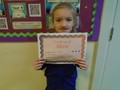 Year 2<p>Poppy - for excellent work in literacy, following instructions</p>