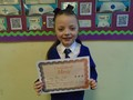 Year 3<p>Halle - for settling in to life in St. Cuthbert's with enthusiasm and a smile</p>